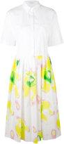 Iceberg abstract print shirt dress - women - Cotton - 38