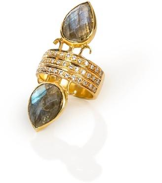 Opuline Ariana Labradorite Ring