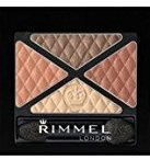 Rimmel Glam'Eyes Quad Eye Shadow - 002 Smokey Brun