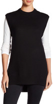 DKNY Sleeveless Faux Undershirt Tunic