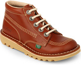 Kickers Kick hi leather boots 7-9 years