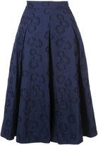 Co box pleated floral skirt - women - Cotton - S