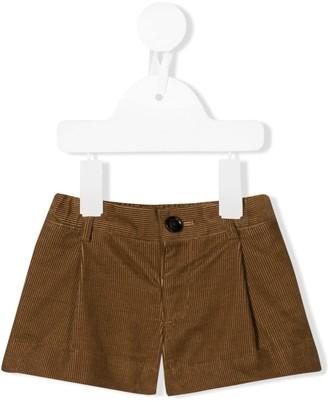 BURBERRY KIDS Short Corduroy Shorts