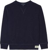 Ralph Lauren Crew-neck cotton jumper 6-14 years