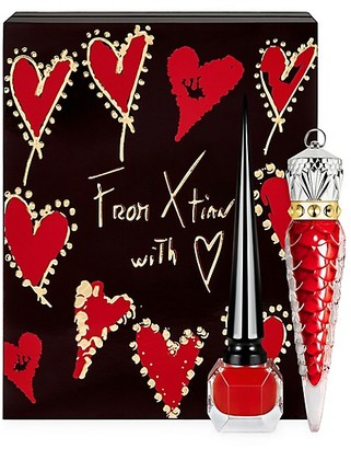Christian Louboutin Loubivalentine's Coffret Rouge Louboutin 2-Piece Lips & Nails Set