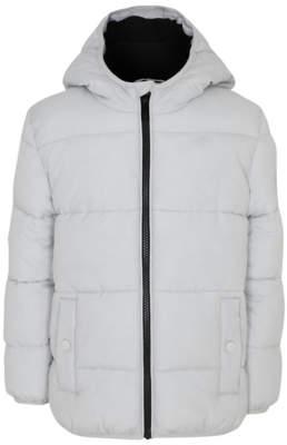 George Grey Hooded Padded Reflective Coat