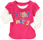 Gymboree Merry Double Sleeve Tee