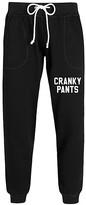 Instant Message Women's Women's Sweatpants BLACK - Black 'Cranky Pants' Joggers - Women & Plus