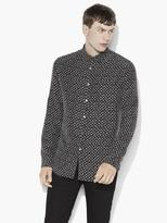 John Varvatos Silk Patterned Shirt