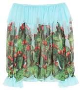 Dolce & Gabbana Exclusive to mytheresa.com – printed silk top