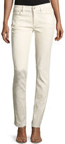 Ralph Lauren 105 Washed Cigarette Jeans, White