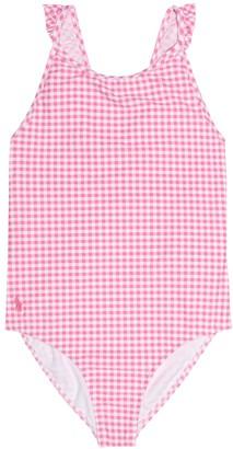 Polo Ralph Lauren Gingham one-piece swimsuit