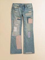Ralph Lauren Girl's Patchwork Jeans