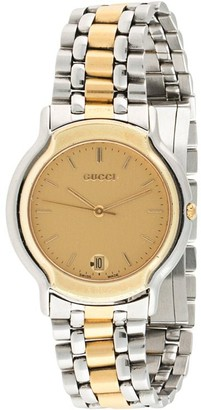 Gucci Pre-Owned Pre-Owned Two-Tone 33mm