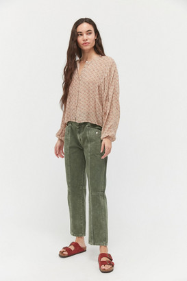 Urban Outfitters Frankie Printed Blouse