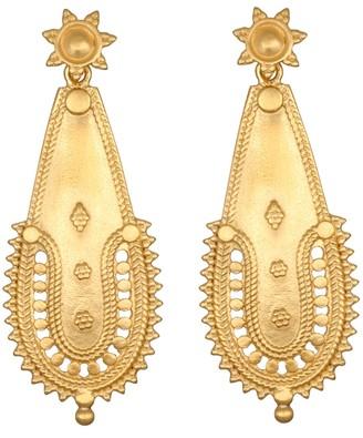 Satya Intricate Openwork Drop Earrings