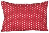 Lullaby Linen Stars and Stripes White Star Cushion