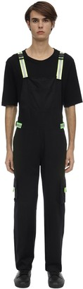 Jaded London Cotton Overalls W/ Reflective Buckles