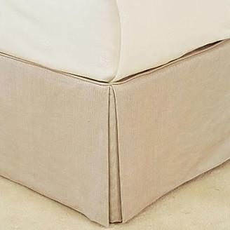 OKA Bed Valance Cotton, Single - Oatmeal