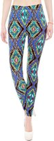 Simplicity Womens Footless High Waisted Printed Liquid Leggings