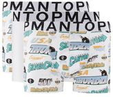 Topman Racing Print Trunk 3 Pack