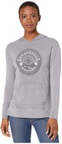 Life is Good We See It Supreme Blend Long Hoodie (Dark Heather Gray) Women's Clothing