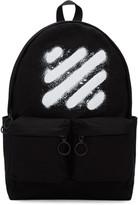 Off-White Black Diagonal Spray Backpack