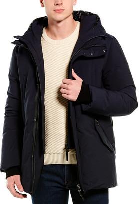 Mackage Edward Leather-Trim Down Coat
