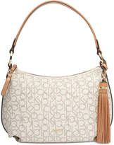 Calvin Klein Holly Signature Large Hobo