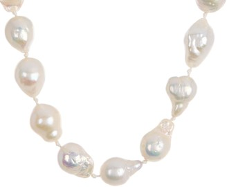 Carolee Diana Baroque Freshwater Pearl Choker Necklace