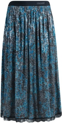 Ermanno Scervino Beads Applique Skirt