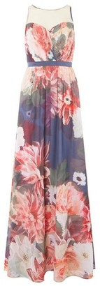 Dorothy Perkins Womens **Showcase Multi Colour 'Alissa' Floral Print Maxi Dress