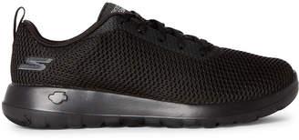 Skechers Black GOwalk Max-Effort Mesh Running Sneakers