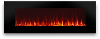 """Pottery Barn Real Flame 50"""" DiNatale Electric Wall Fireplace"""