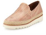 Donald J Pliner Millie Leather Slip-On Sneaker, Blush