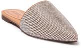 Schutz Crystal Embellished Pointed Toe Mule