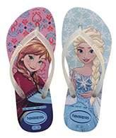 Havaianas Slim Frozen, Girl's Flip Flops,8/9 Child UK (25/26 Brazilian) (27/28 EU)