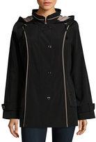 Gallery Plus Hooded Raincoat