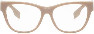 Burberry Beige Square Glasses