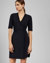 Ted Baker Knitted Wrap Dress