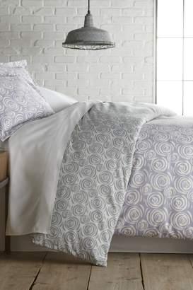 Ultrasoft Southshore Fine Linens Queen Premium Collection Ultra-Soft Modern Printed 4-Piece Sheet Set - Circle & Swirl Lavender