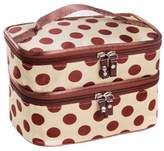 BBrie Square Bow Stripe Cosmetic Bag Hot