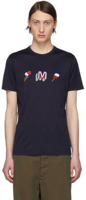 Moncler Navy Ice Cream T-Shirt