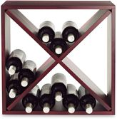 Bed Bath & Beyond 24-Bottle Compact Wood Cube Wine Rack
