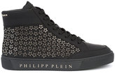 Philipp Plein Kauai hi-top sneakers - men - Leather/rubber - 41