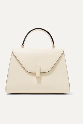 Valextra Iside Medium Textured-leather Shoulder Bag - Cream
