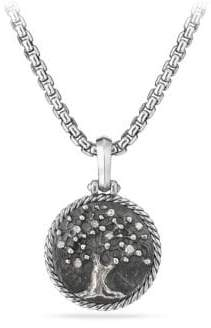 David Yurman Cable Collectibles Tree of Life Amulet with Diamonds