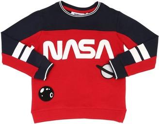 Fabric Flavours NASA COTTON SWEATSHIRT W/ PATCHES