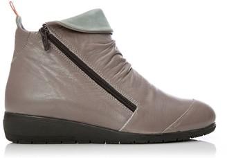 Shoon Briena Grey Leather