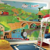 York Wall Coverings York wallcoverings Thomas the Tank Engine Large Removable Wallpaper Mural